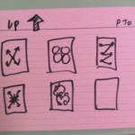 6 Up interaction sketches