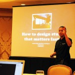 That's me telling the best in the Agile world how to design fast!